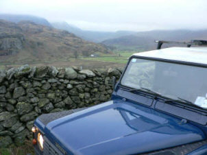 [delivering firewood to Kentmere ]