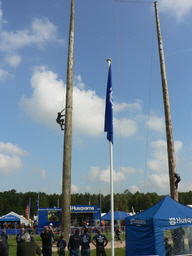 [pole climbing at the apf]