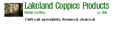 Lakeland Coppice Products